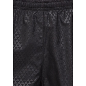 Nike Modern Tempo Embossed Shortsit Naiset, black/volt/reflective silver